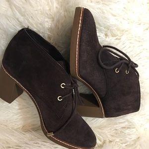 TORY BURCH Women's Brown Booties Size 8